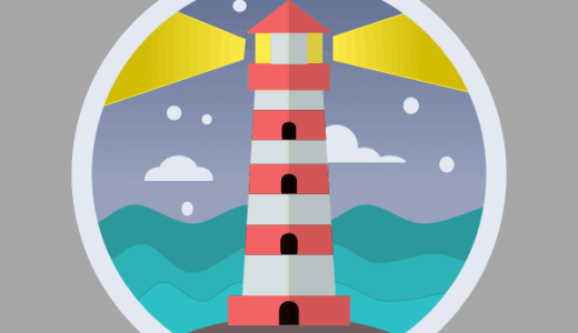 灯台のアイコン